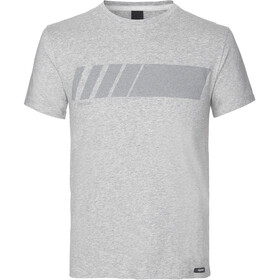 GripGrab Racing Stripe SS Organic Cotton T-Shirt, grey